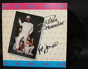 Paul Barrere Signed Autographed 'On My Own Two Feet' Record Album - COA Matching Holograms
