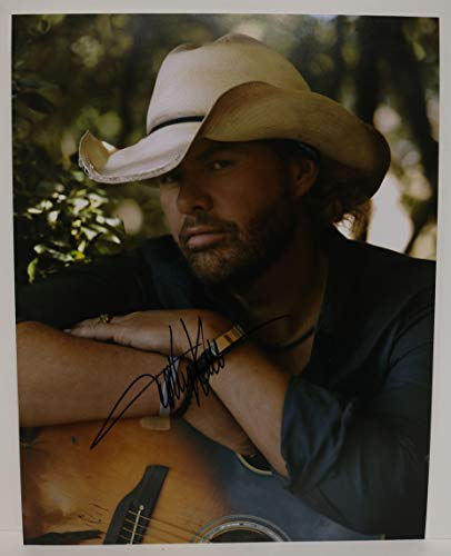 Toby Keith Signed Autographed Glossy 11x14 Photo - COA Matching Holograms