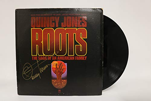 Quincy Jones Signed Autographed 'Roots' Record Album - COA Matching Holograms