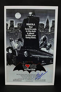George Hamilton Signed Autographed 'Love at First Bite' Glossy 11x17 Movie Poster - COA Matching Holograms