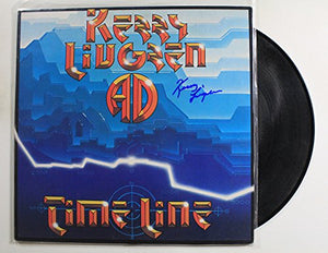 "Kerry Livgren Signed Autographed ""Time Line"" Record Album - COA Matching Holograms"