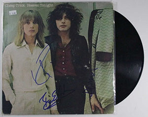 "Cheap Trick Band Signed Autographed ""Heaven Tonight"" Record Album - COA Matching Holograms"