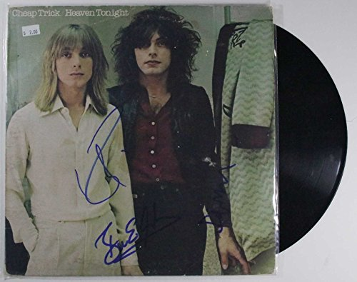 Cheap Trick Band Signed Autographed