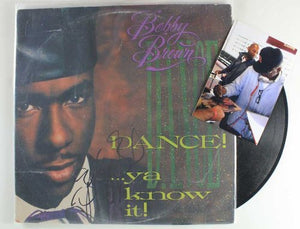 "Bobby Brown Signed Autographed ""Dance! Ya Know It!"" Record Album - COA Matching Holograms"
