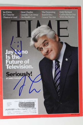 Jay Leno Signed Autographed Complete