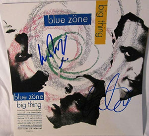 Lisa Stansfield & Ian Devaney Signed Autographed 'Blue Zone' 12x12 Promo Photo - COA Matching Holograms