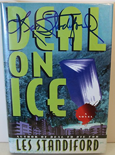 Les Standiford Signed Autographed 'Deal On Ice' H/C Hard Cover Book - COA Matching Holograms