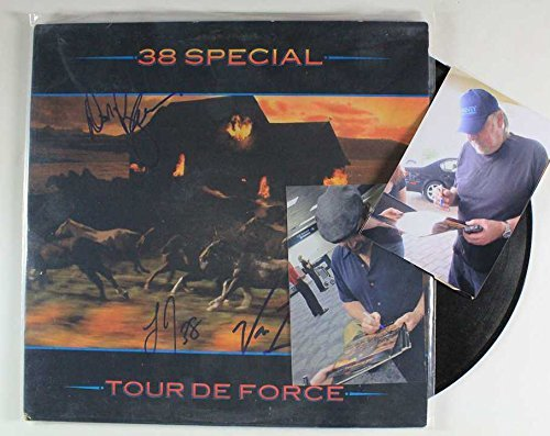 .38 Special Band Signed Autographed