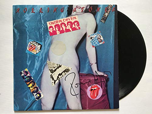 Ronnie Wood Signed Autographed 'The Rolling Stones' Record Album - COA Matching Holograms