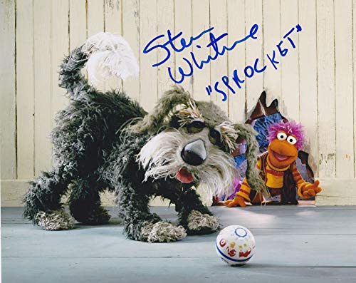 Steve Whitmire Signed Autographed 'Sprocket' Glossy 8x10 Photo - COA Matching Holograms