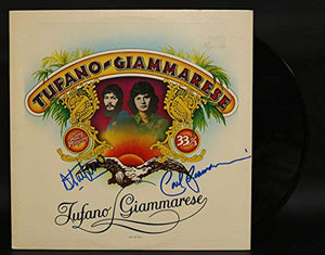 Carl Giammarese & Dennis Tufano Signed Autographed 'Tufano-Giammarese' Record Album - COA Matching Holograms