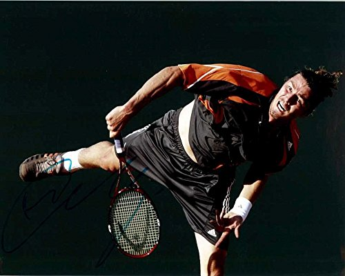 Marat Safin Signed Autographed Tennis Glossy 8x10 Photo - COA Matching Holograms