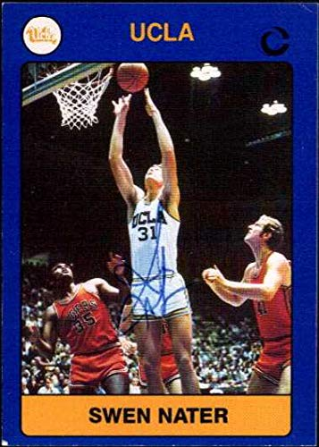 Swen Nater Signed Autographed 1991 Collegiate Collection Basketball Card - UCLA Bruins