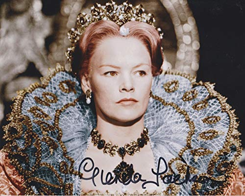 Glenda Jackson Signed Autographed 'Queen Elizabeth' Glossy 8x10 Photo - COA Matching Holograms