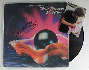 "Pat Travers Signed Autographed ""Black Pearl"" Record Album - COA Matching Holograms"