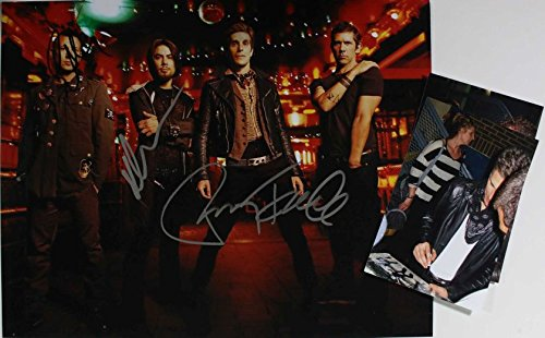 Jane's Addiction Band Signed Autographed Glossy 11x14 Photo w/Proof Photos