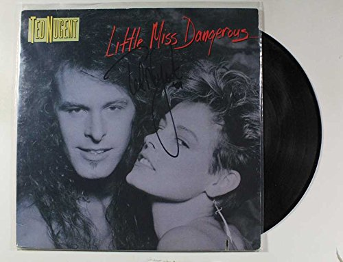 Ted Nugent Signed Autographed 'Little Miss Dangerous' Record Album - COA Matching Holograms
