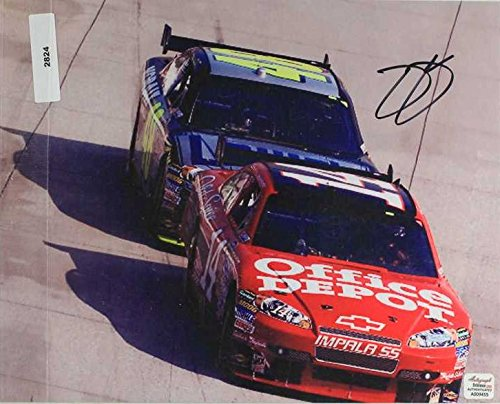 Jimmie Johnson Signed Autographed NASCAR Glossy 8x10 Photo
