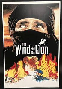John Milius Signed Autographed 'The Wind and the Lion' Glossy 11x17 Movie Poster - COA Matching Holograms