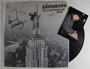 "David Bromberg Signed Autographed ""Wanted Dead or Alive"" Record Album - COA Matching Holograms"