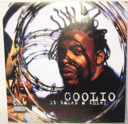 Coolio Signed Autographed 'It Takes a Thief' 12x12 Promo Photo - COA Matching Holograms