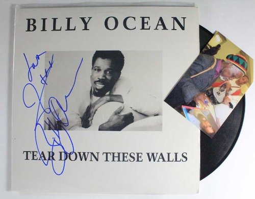 Billy Ocean Signed Autographed