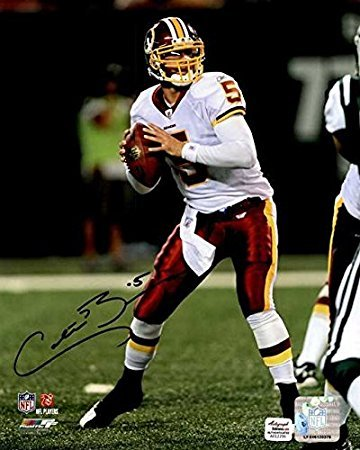 Colt Brennan Signed Autographed 8x10 Photo Washington - COA Matching Holograms