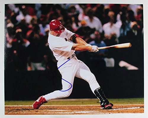 Mark McGwire Signed Autographed Glossy 11x14 Photo St. Louis Cardinals - COA Matching Holograms