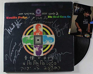"Vanilla Fudge Band Signed Autographed ""The Beat Goes On"" Record Album - COA Matching Holograms"