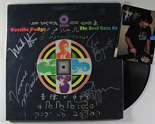 Vanilla Fudge Band Signed Autographed