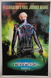 LeVar Burton Signed Autographed 'Star Trek' Glossy 11x17 Movie Poster - COA Matching Holograms