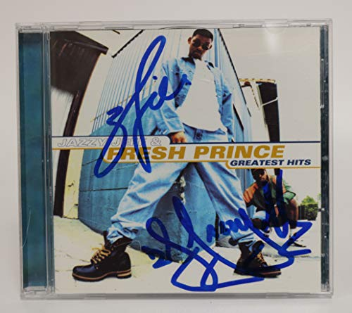 Will Smith & D.J. Jazzy Jeff Signed Autographed 'The Fresh Prince' Music CD - COA Matching Holograms