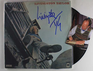 "Livingston Taylor Signed Autographed ""Livingston Taylor"" Record Album - COA Matching Holograms"