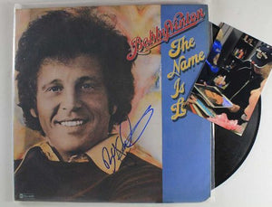 "Bobby Vinton Signed Autographed ""The Name Is Love"" Record Album - COA Matching Holograms"