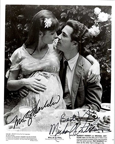 Margot Kidder & Michael Ontkean Signed Autographed Willie & Phil Glossy 8x10 Photo - COA Matching Holograms