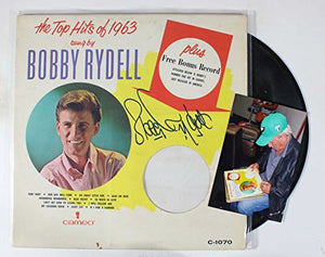 "Bobby Rydell Signed Autographed ""The Top Hits of 1963"" Record Album - COA Matching Holograms"