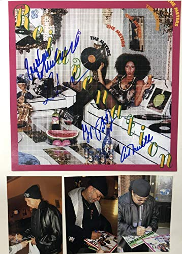 The Meters Band Signed Autographed 'Reinvention' 12x12 Promo Photo - COA Matching Holograms