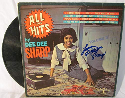 Dee Dee Sharp Signed Autographed 'All The Hits' Record Album - COA Matching Holograms