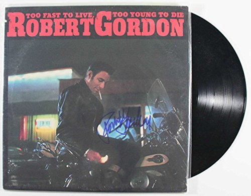 Robert Gordon Signed Autographed