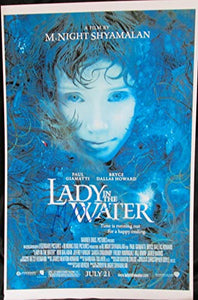 M. Night Shyamalan Signed Autographed 'Lady in the Water' Glossy 11x17 Movie Poster - COA Matching Holograms