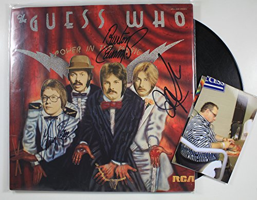 The Guess Who Band Signed Autographed
