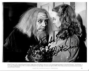 Albert Finney Signed Autographed 'The Dresser' Glossy 8x10 Photo - COA Matching Holograms