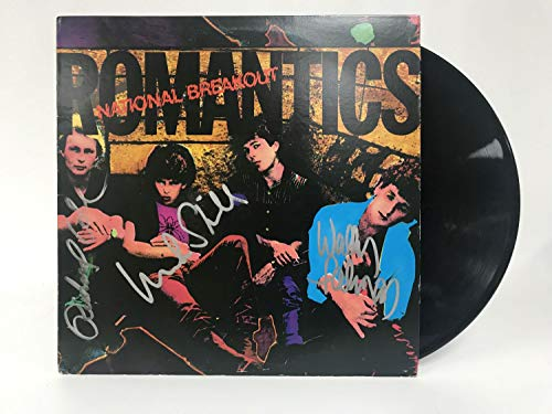 Wally Palmar, Mike Skill & Richard Cole Signed Autographed 'The Romantics' Record Album - COA Matching Holograms