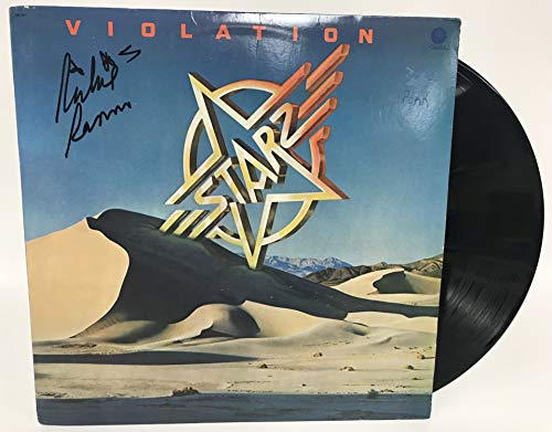Richie Ranno Signed Autographed 'Starz' Record Album - COA Matching Holograms