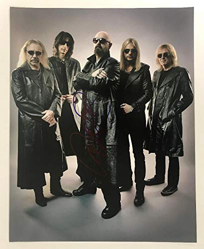 Rob Halford Signed Autographed 'Judas Priest' Glossy 11x14 Photo - COA Matching Holograms