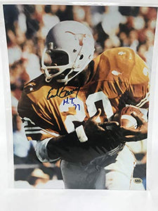 Earl Campbell Signed Autographed 'H.T. 77' Glossy 11x14 Photo Texas Longhorns - COA Matching Holograms
