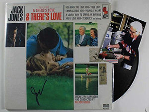 "Jack Jones Signed Autographed ""There's Love & There's Love"" Record Album - COA Matching Holograms"