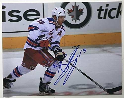 Brad Richards Signed Autographed Glossy 11x14 Photo New York Rangers - COA Matching Holograms