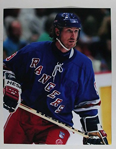 Wayne Gretzky Signed Autographed Glossy 11x14 Photo New York Rangers - COA Matching Holograms