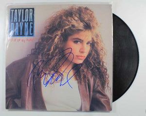 "Taylor Dayne Signed Autographed ""Tell it to My Heart"" Record Album - COA Matching Holograms"